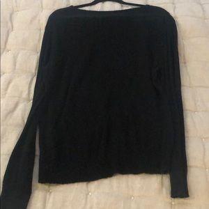 Wildfox Sweaters - WILDFOX LIGHTNING BOLT BLACK SWEATER TOP, SIZE L